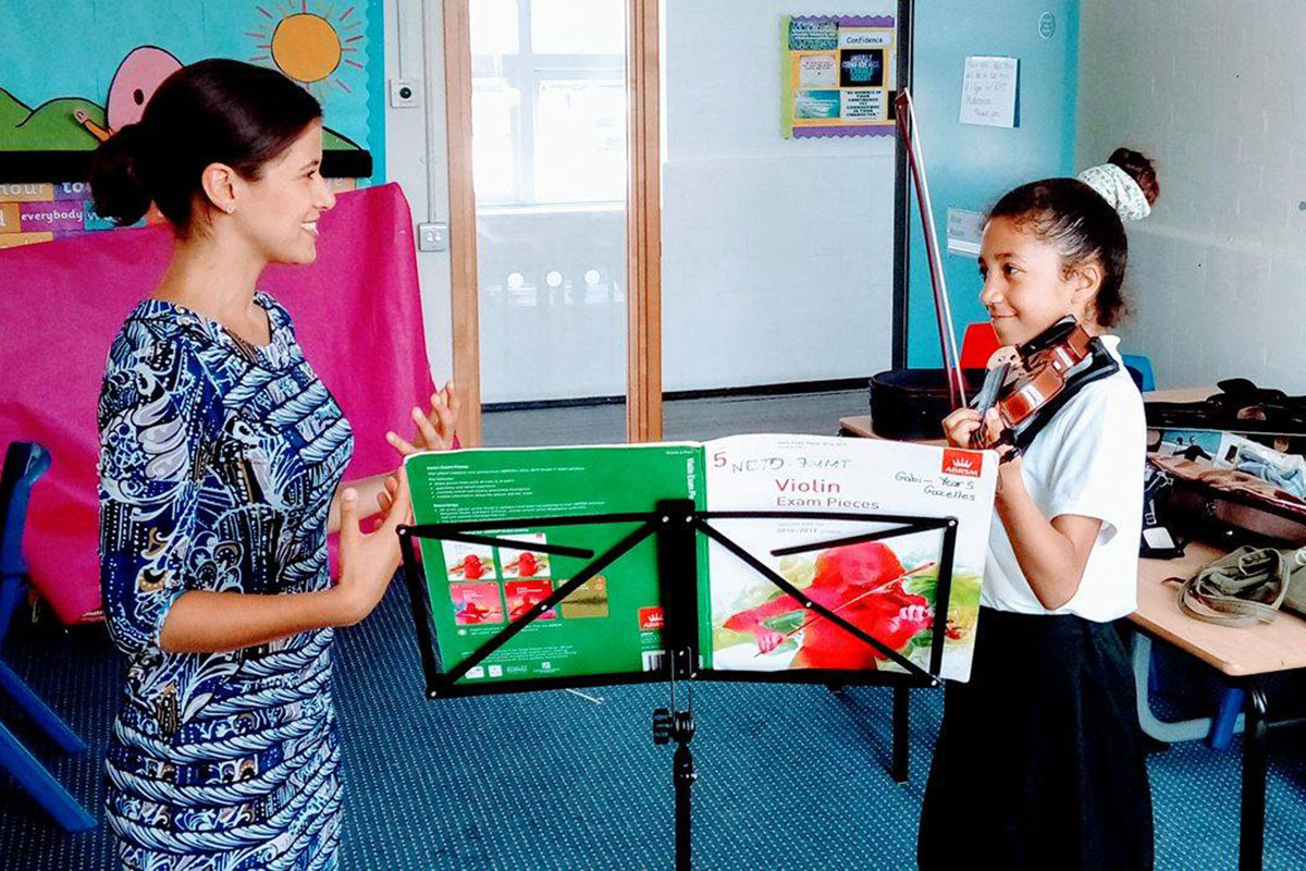 Music Masters Team Teach programme.